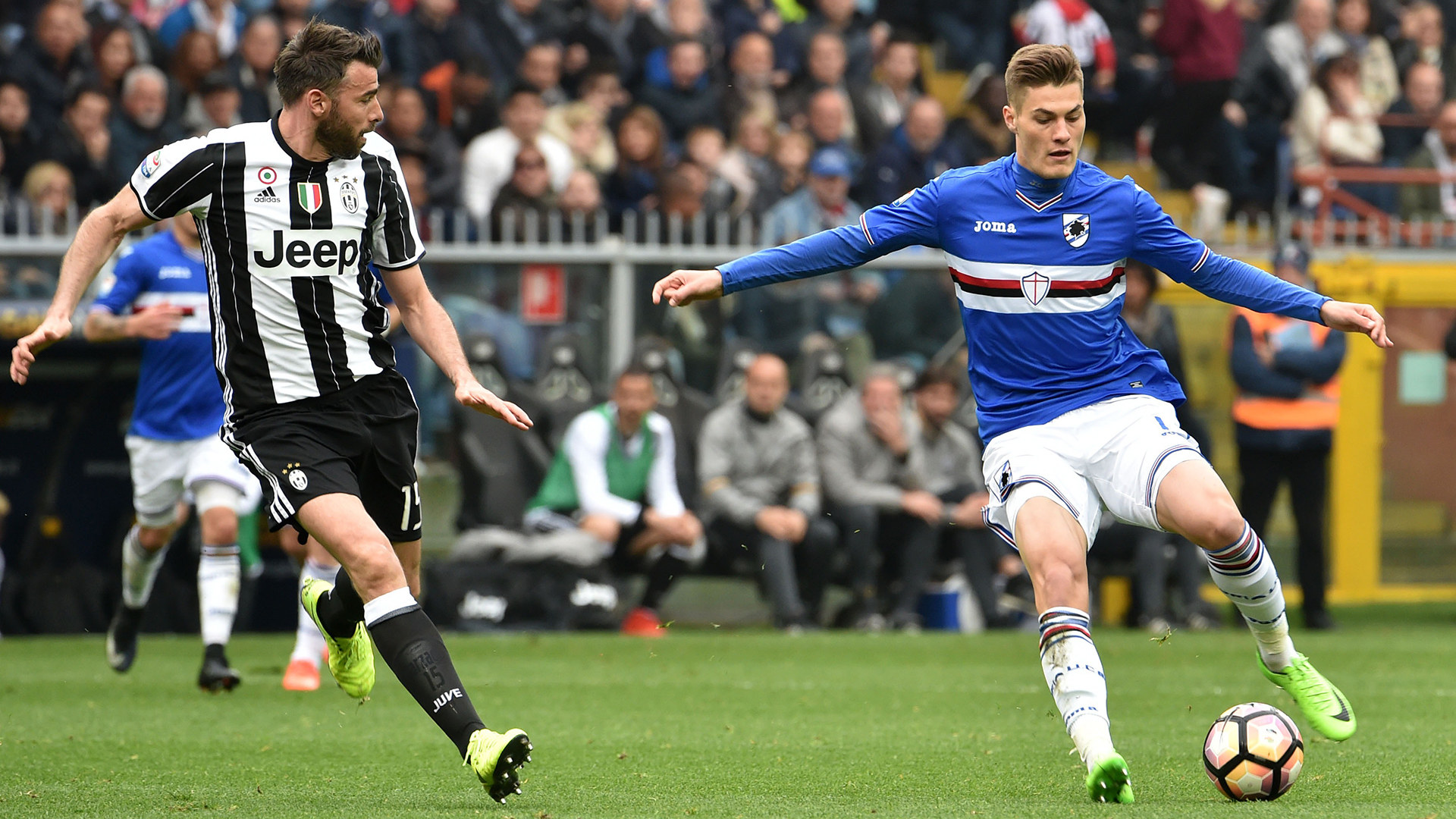 Patrik Schick Sampdoria Juventus