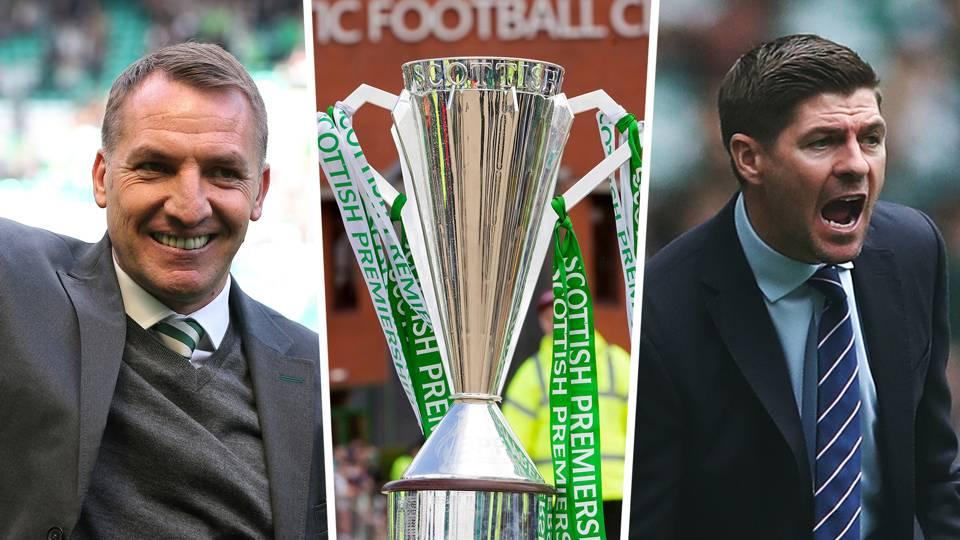 Brendan Rodgers Celtic Steven Gerrard Rangers