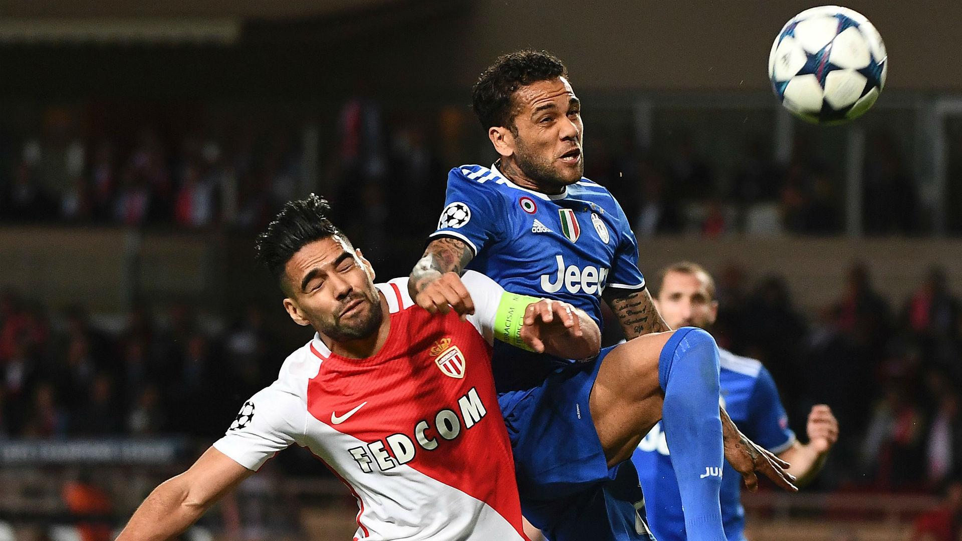 Dani Alves Radamel Falcao Monaco Juve 03052017