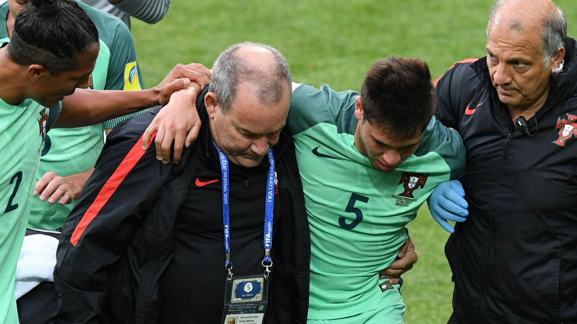 Portugal fracture de cheville pour Guerreiro
