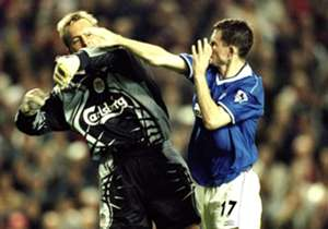FRANCIS JEFFERS | LIVERPOOL 0-1 EVERTON, PREMIER LEAGUE, SEPTEMBER 27 1999