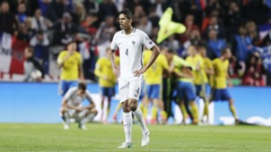 Raphael Varane Sweden France World Cup Qualifiers 09062017
