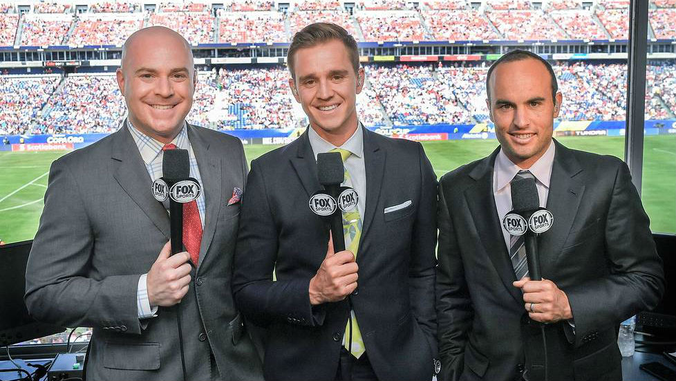 EMBED ONLY - Landon Donovan John Strong Stu Holden