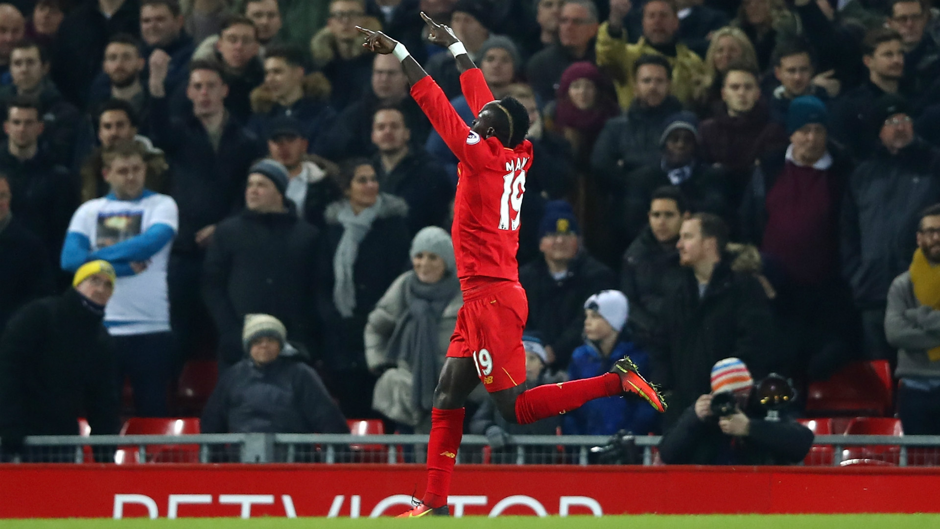 HD Sadio Mane celebrates