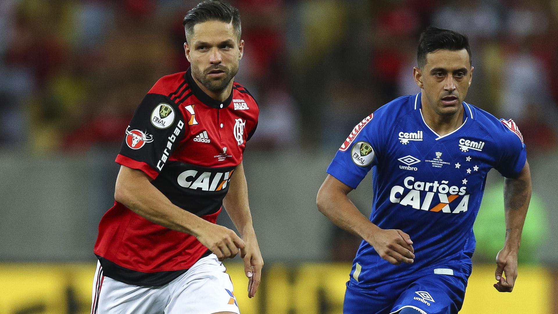 Diego Flamengo x Cruzeiro Copa do Brasil 07 09 17