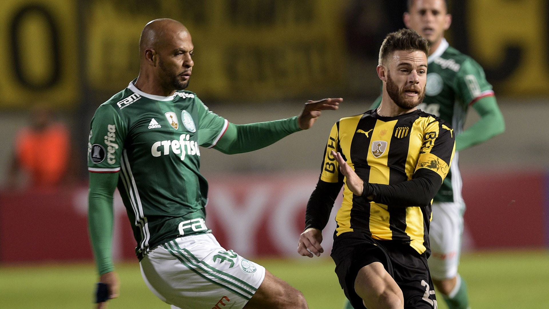 Coppa Libertadores, follia Felipe Melo: pugni a un avversario e maxi rissa