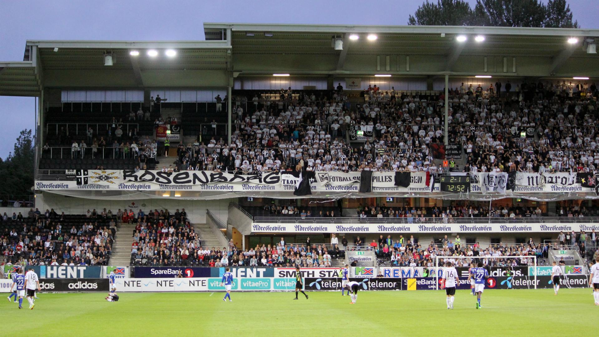 Rosenborg v Molde Eliteserien 07082011
