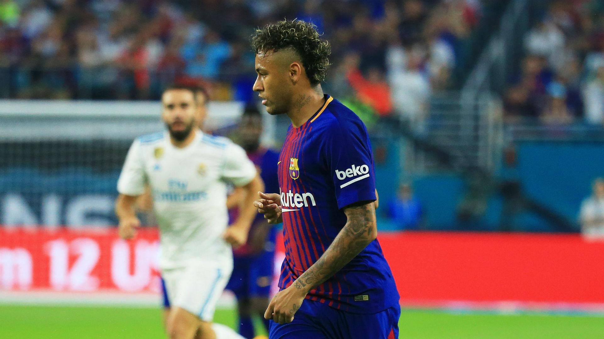 Neymar Barcelona Real Madrid ICC