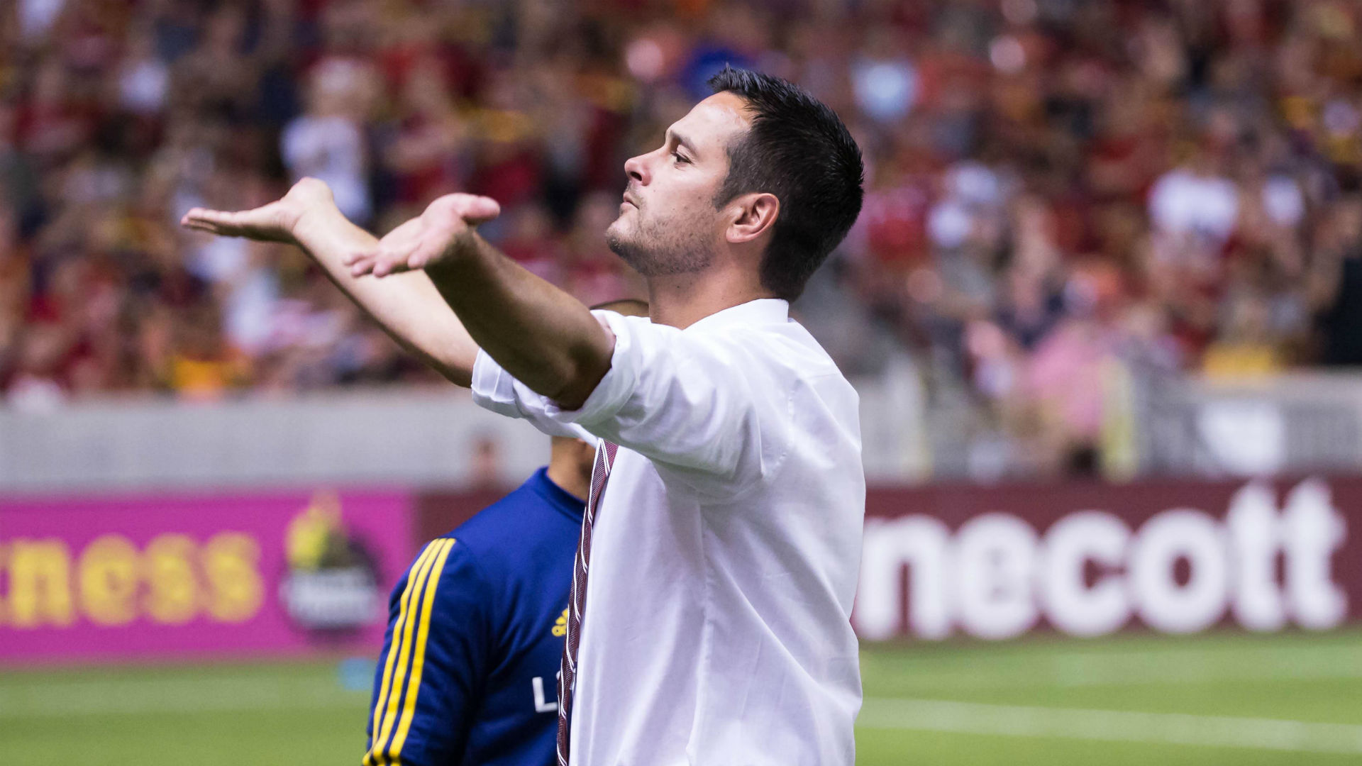 Mike Petke Real Salt Lake MLS 072217