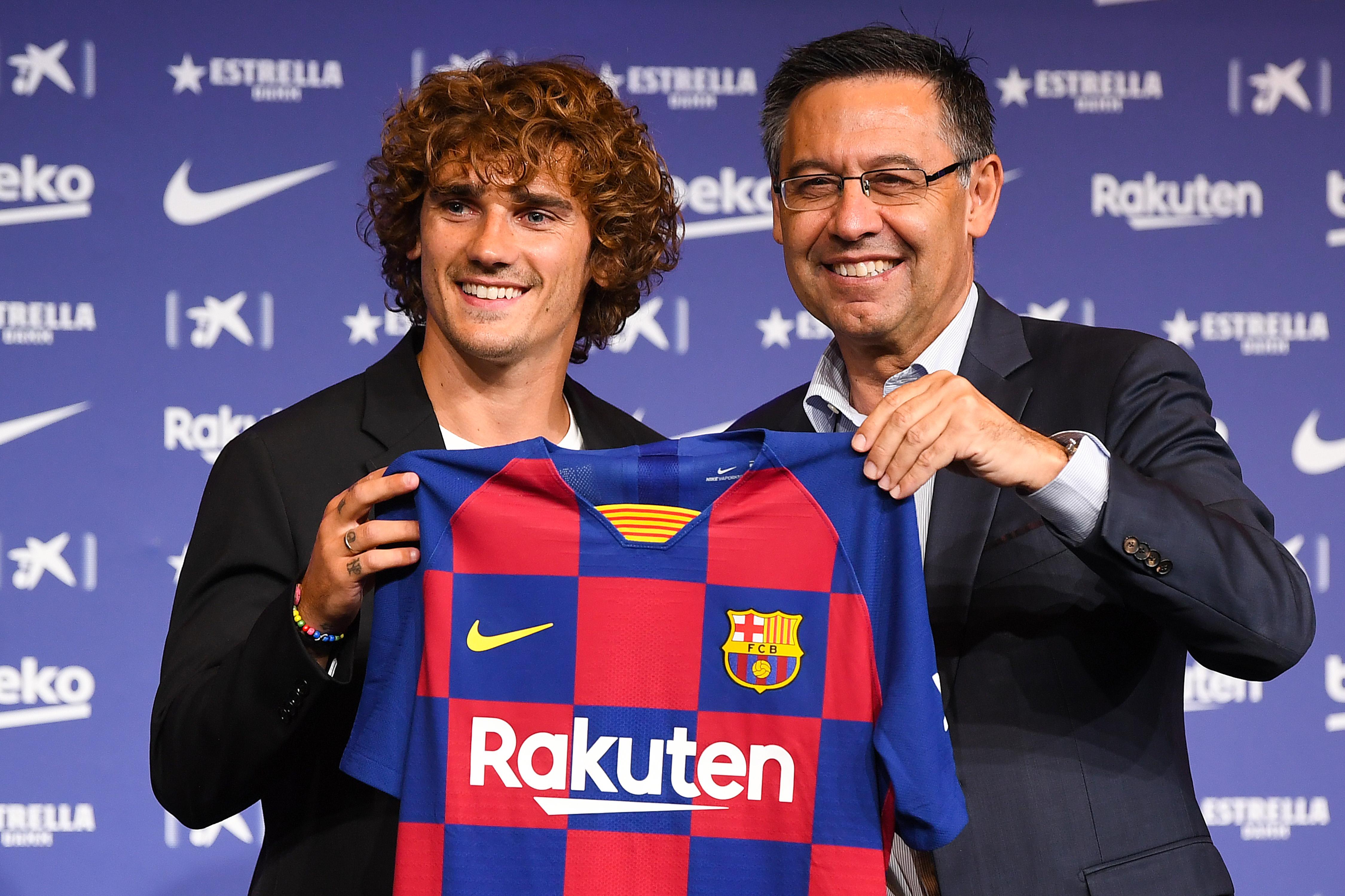 Barça - Antoine Griezmann prend déjà deux petits ponts pour son premier entraînement