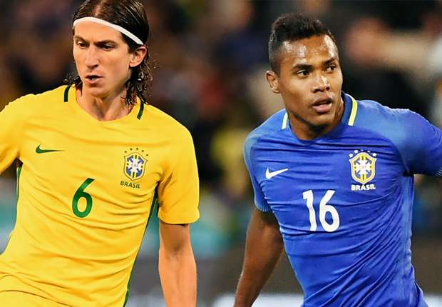 Has Alex Sandro replaced Filipe Luis for Brazil?
