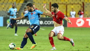 Caf Champions League Final 2017, Al Ahly forward Walid Azaro and Wydad Casablanca defender Rabeh Youssef
