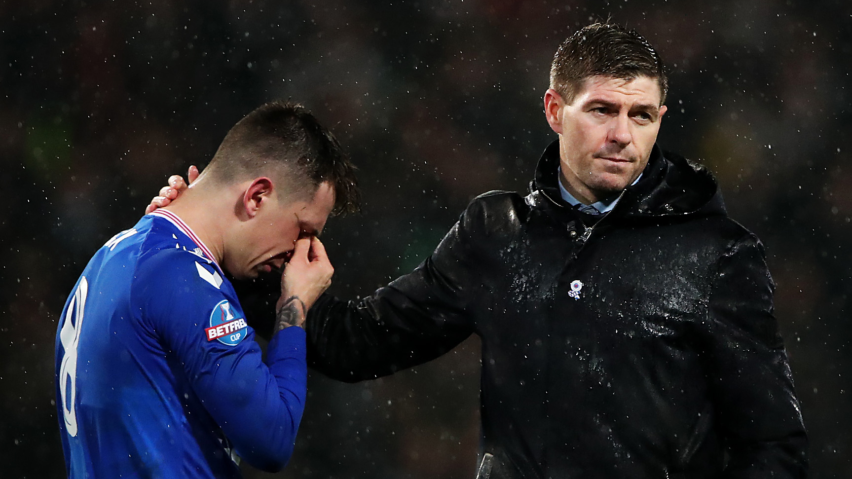 Gerrard conflicted over VAR after Scottish League Cup final defeat
