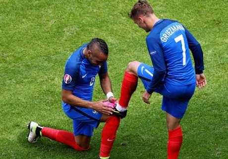 Euro: França 2 x 1 Irlanda