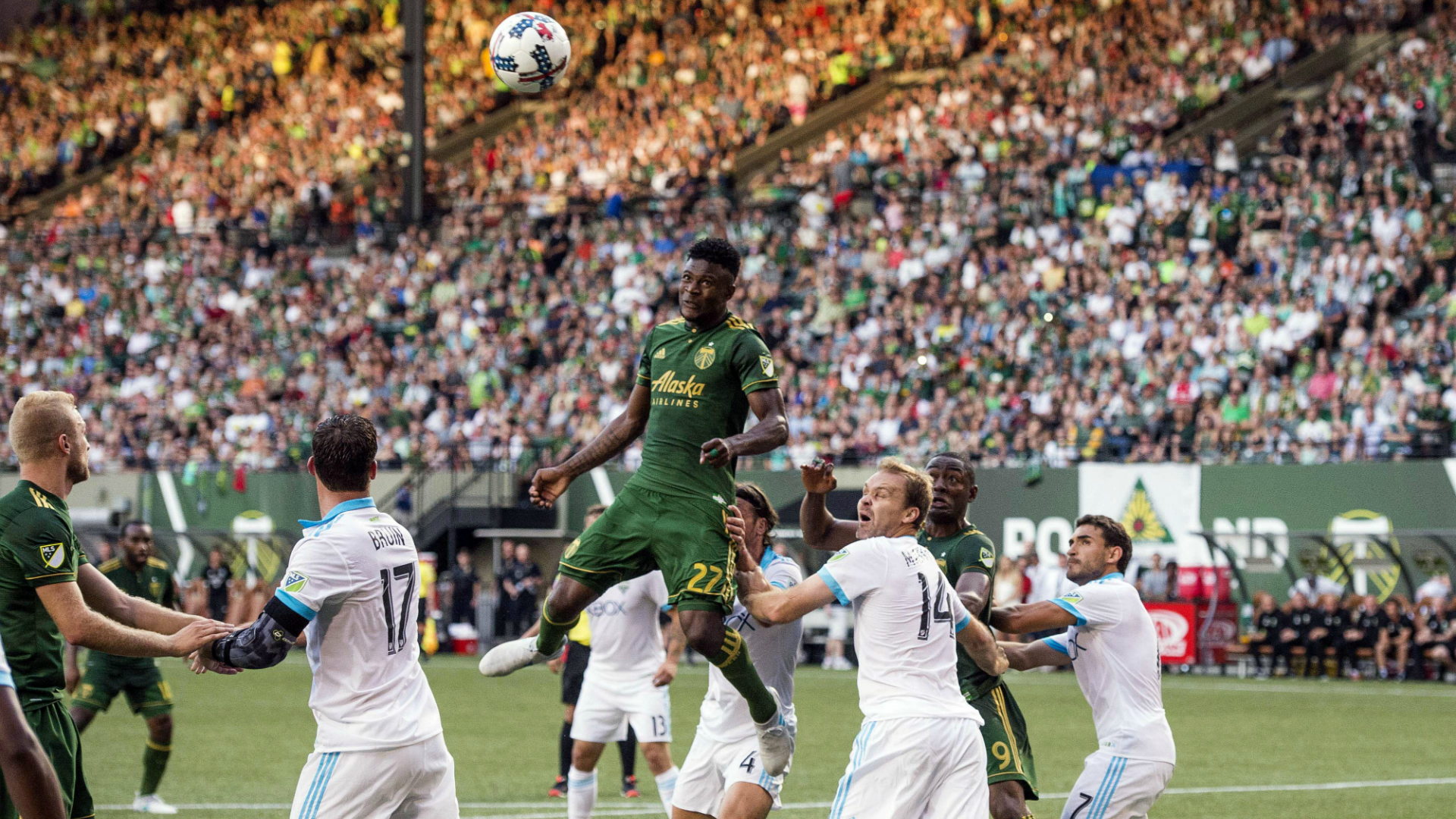 Dairon Asprilla Portland Timbers Seattle Sounders