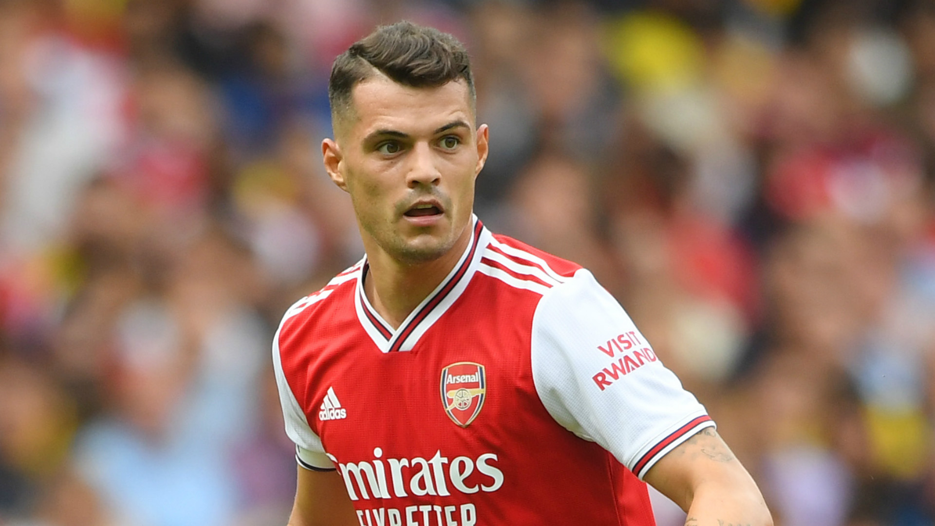 Xhaka reveals injury issue which will have impacted on Arsenal form