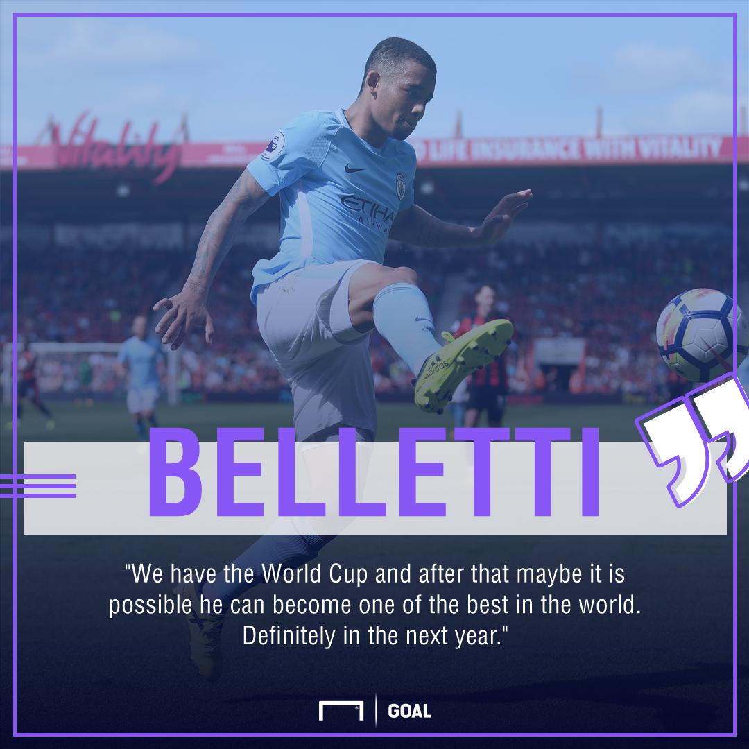 Juliano Belletti Gabriel Jesus Manchester City world's best