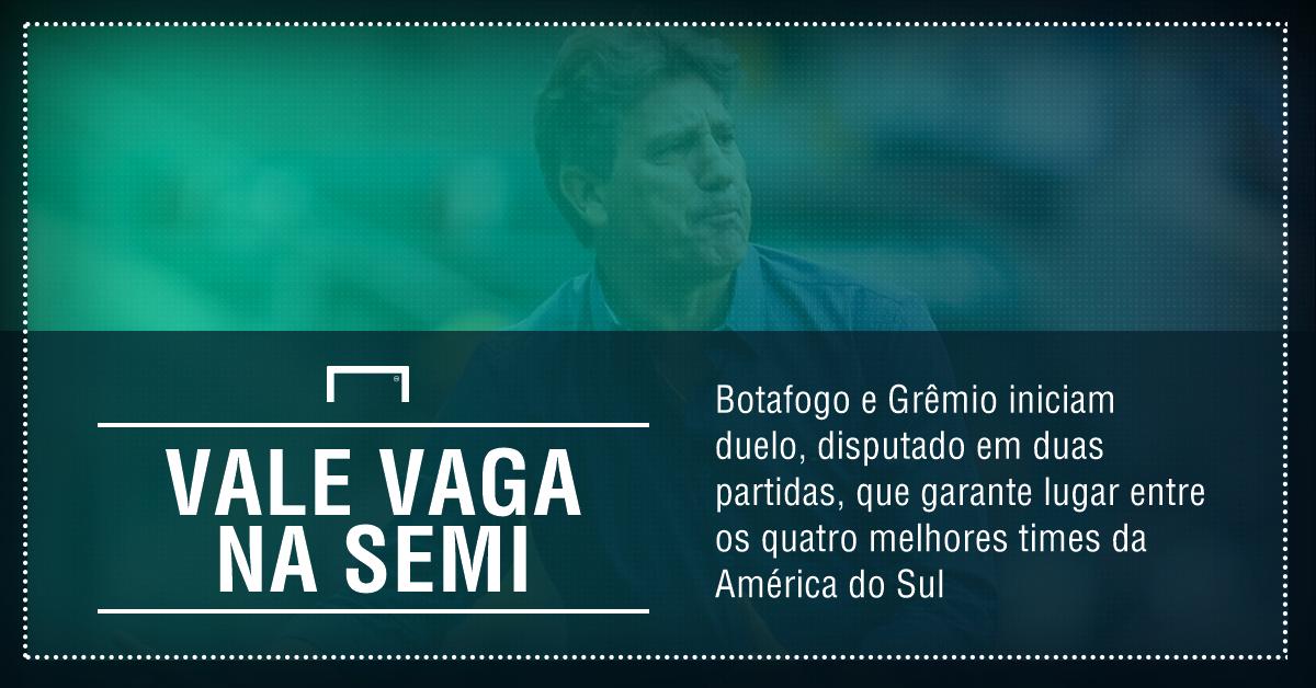 GFX Botafogo x Grêmio