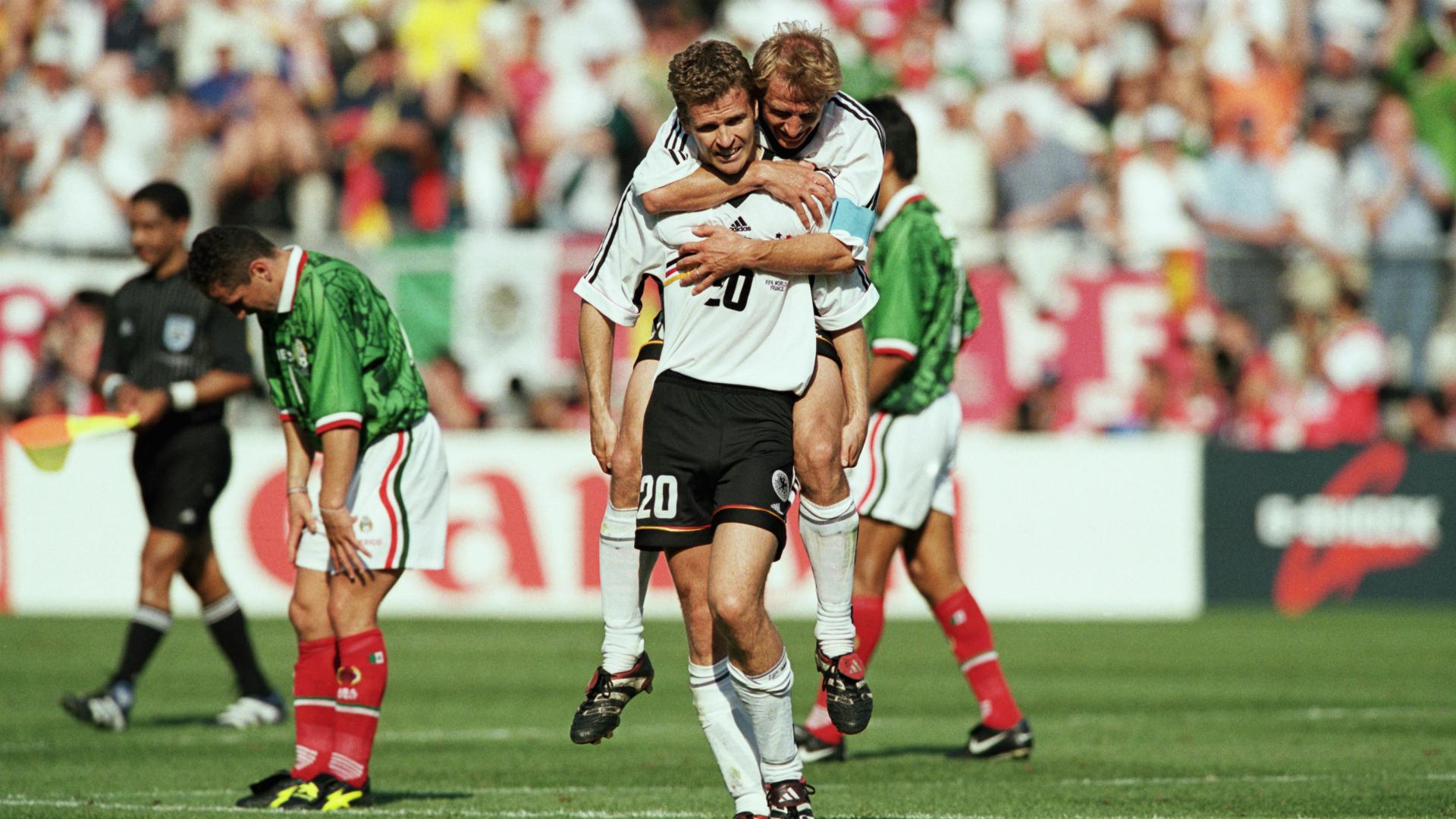 Jugar contra México, un honor: Alemania