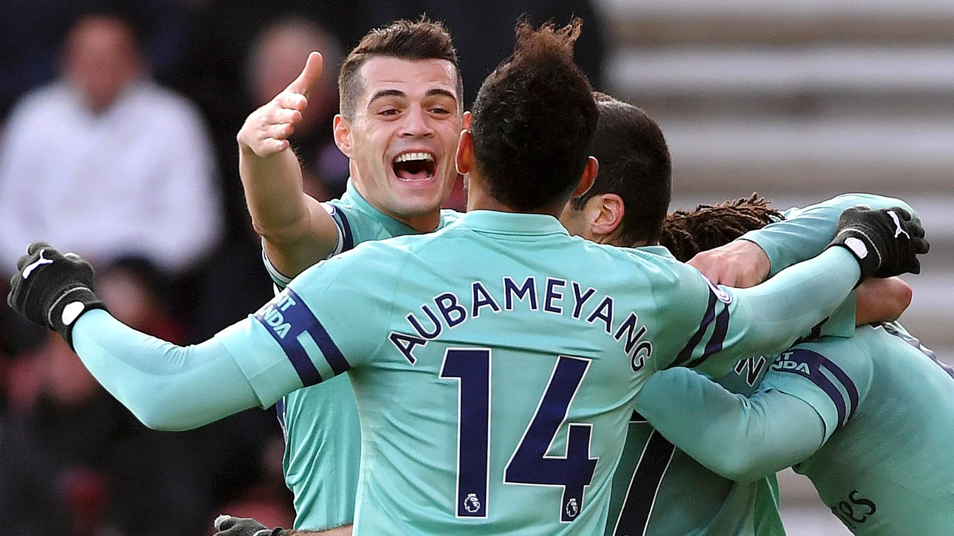 Aubameyang named new Arsenal captain as Xhaka stripped of armband