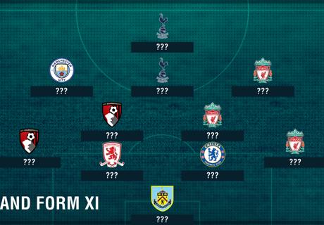 England XI based on club form