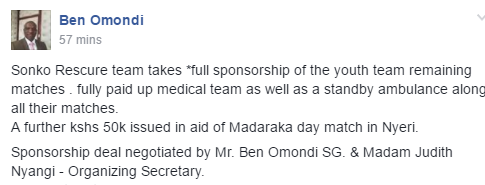 Ben Omondi on Sonko deal