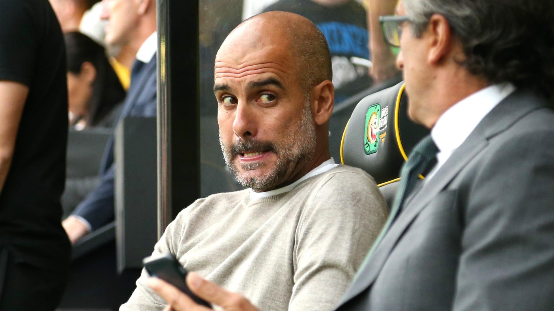 """Manchester City, Guardiola : """"Ne vous attendez pas à avoir 100 points à chaque fois"""""""