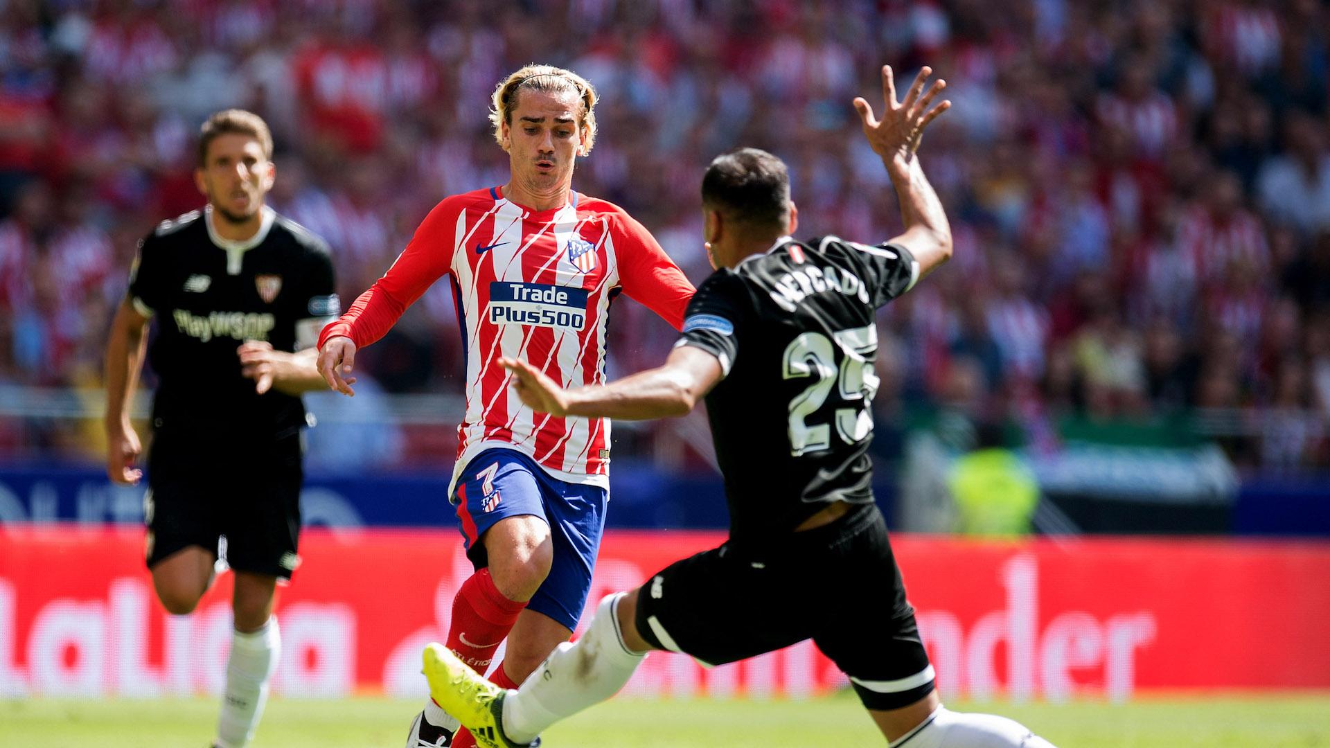 Griezmann Mercado Atletico Madrid Sevilla LaLiga