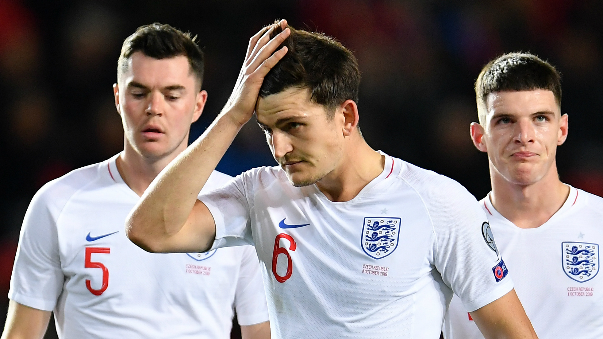 Video: Maguire dismisses suggestion of England 'cliques'