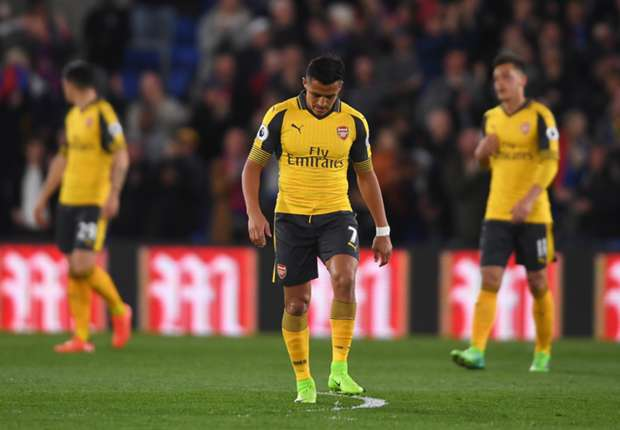 Abysmal Arsenal need miracle to make Champions League after Palace pummelling