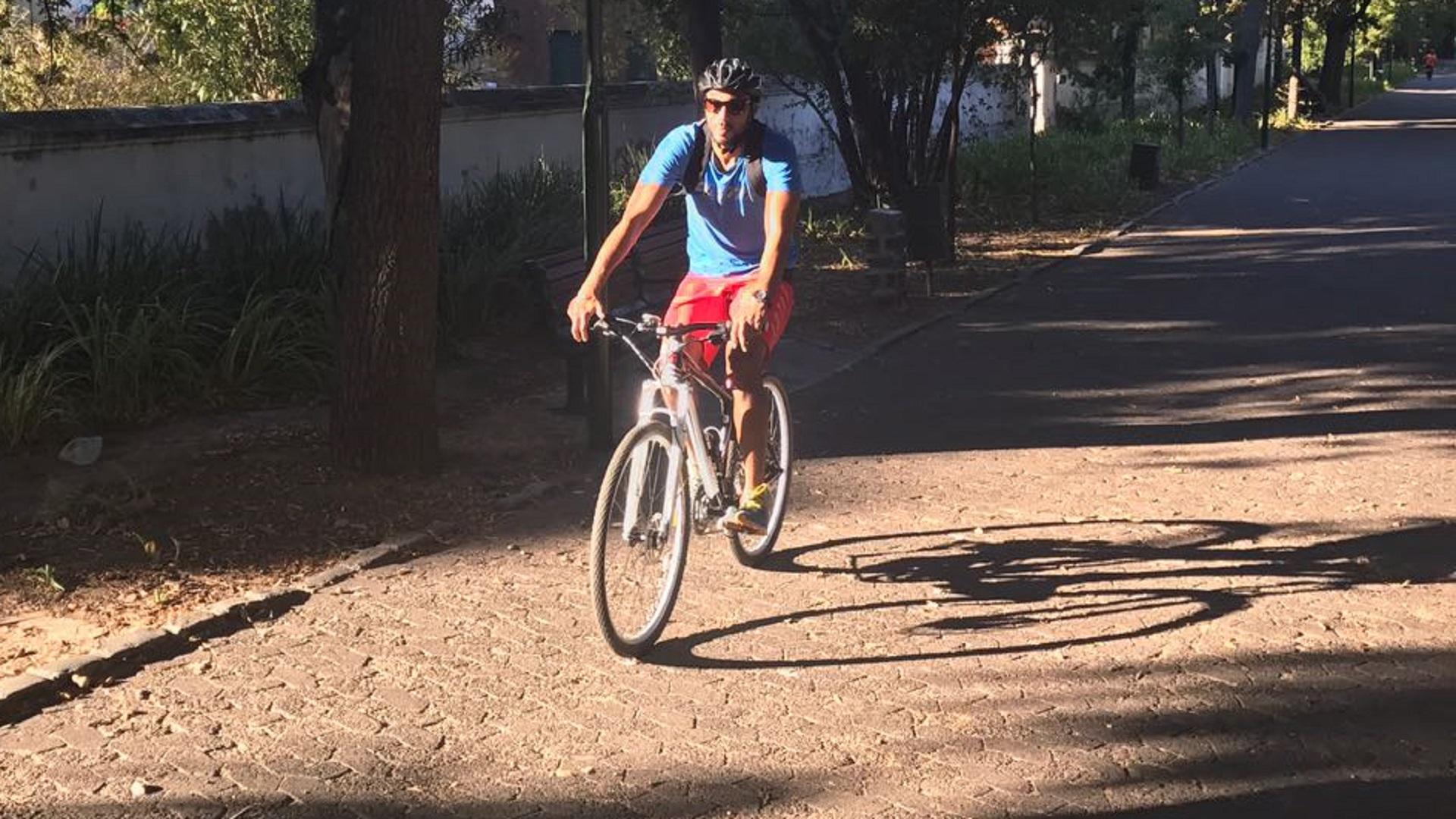 Shuaib Walters cycling cape town