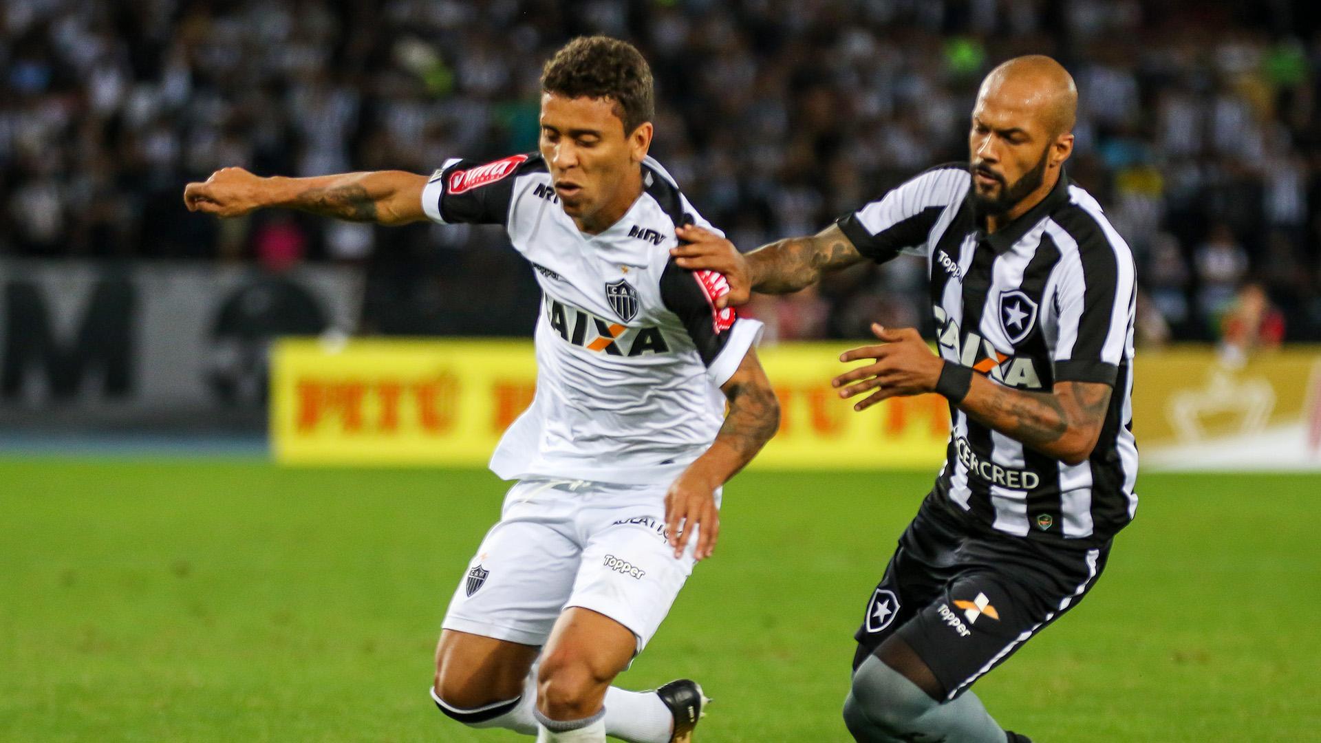 Bruno Silva Marcos Rocha Botafogo Atletico-MG Copa do Brasil 26072017