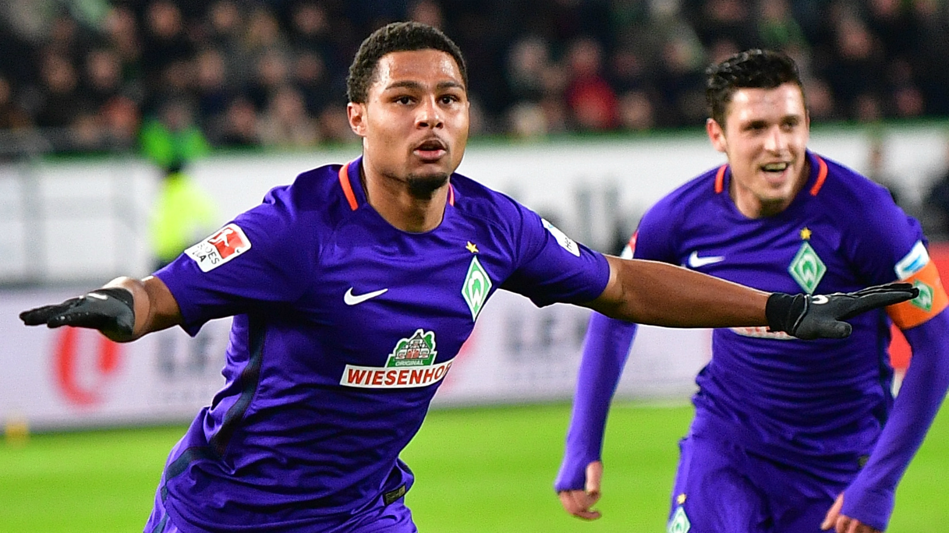Germany forward Serge Gnabry to leave Werder Bremen