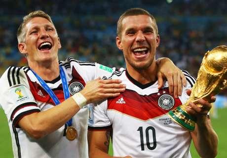 Schweini sends Podolski farewell letter