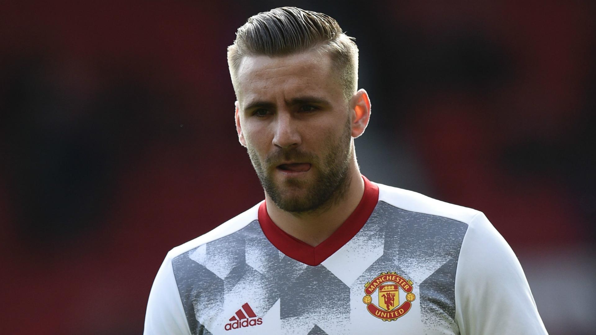 Luke Shaw Manchester United 2017