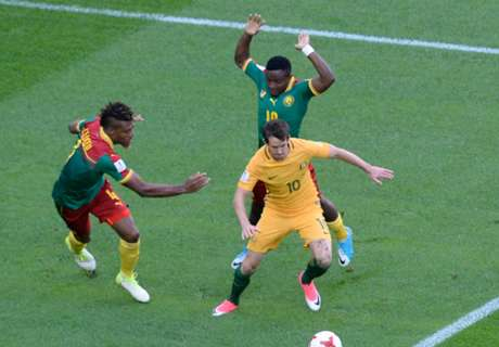 Socceroos hold Cameroon to draw