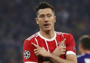 14) Robert Lewandowski (POLONIA) 42 goal - Bayern Monaco, Borussia Dortmund