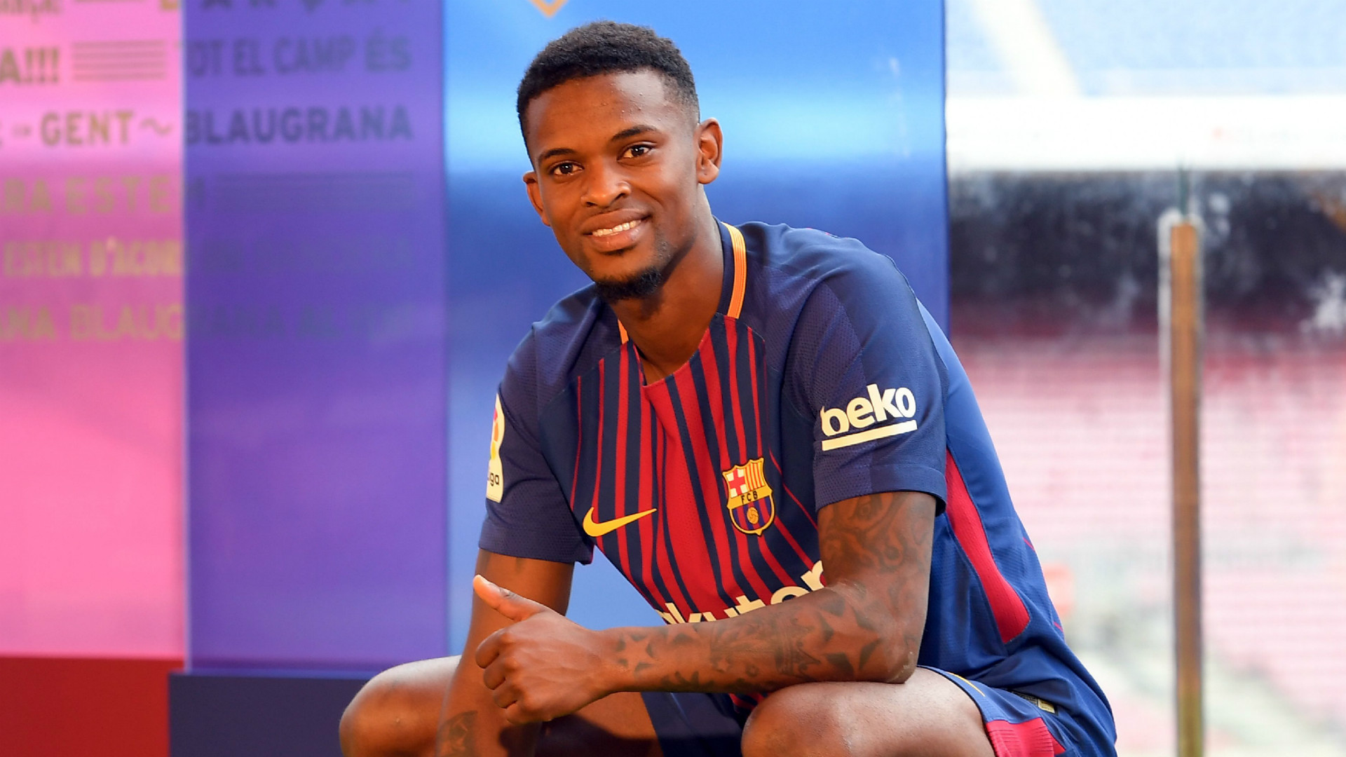 barcelona transfer nelson semedo signs for u20ac30 million from benfica