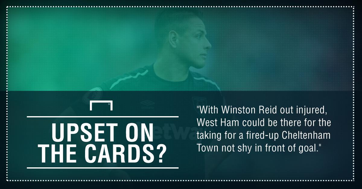 GFX Cheltenham Town West Ham betting