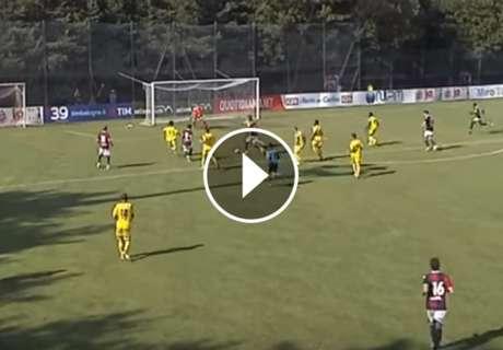 ► Pulgar marcó un golazo en Bologna