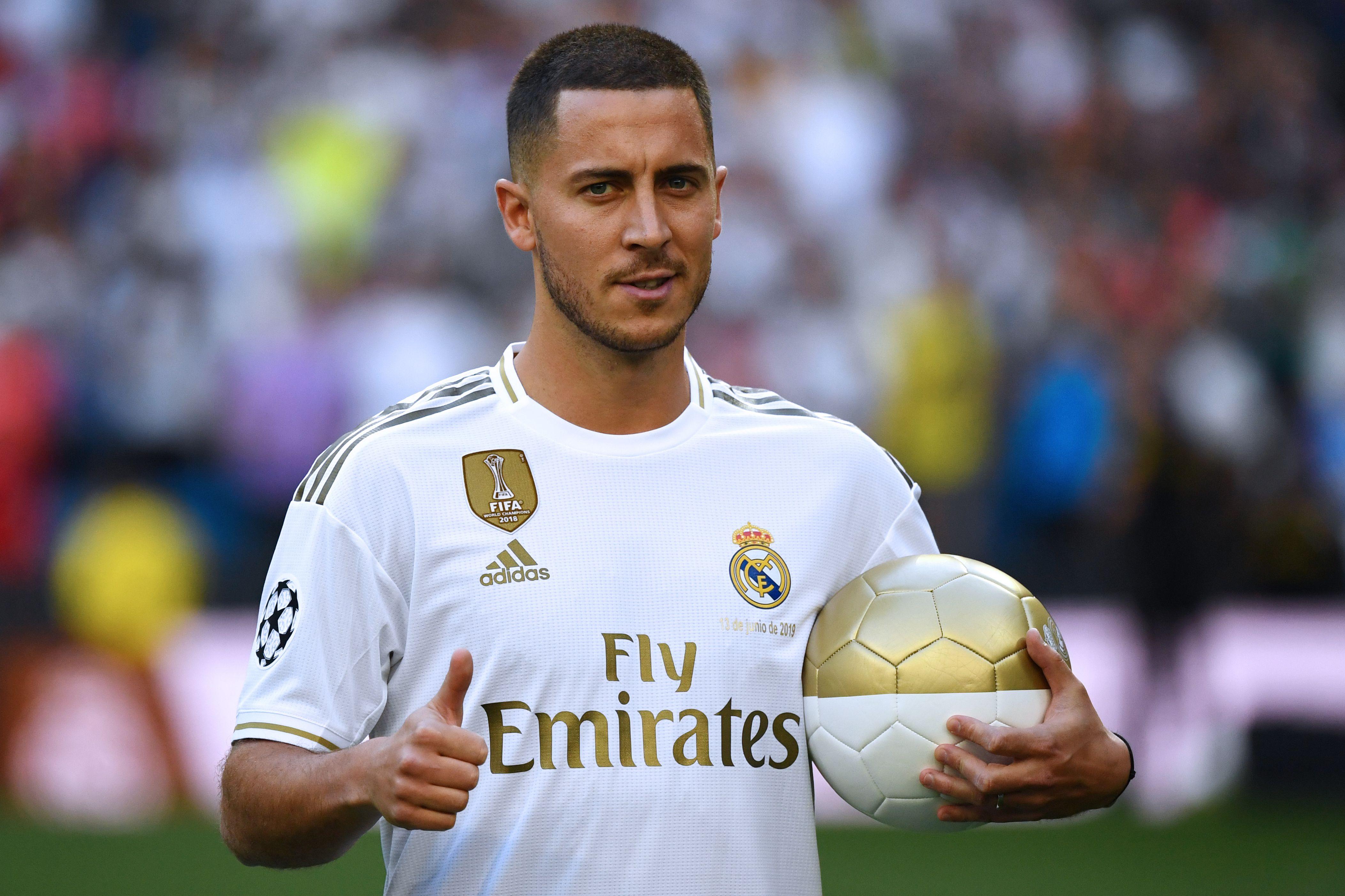 Real Madrid, les premiers mots d'Eden Hazard