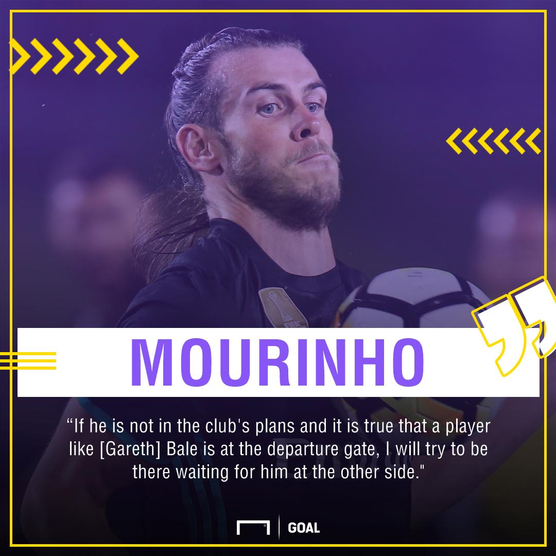 Jose Mourinho Gareth Bale Manchester United Real Madrid
