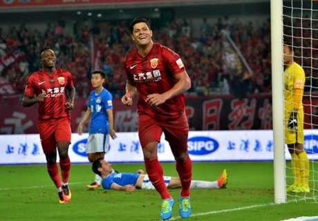 ►Hulk bilha em vitória do Shangai