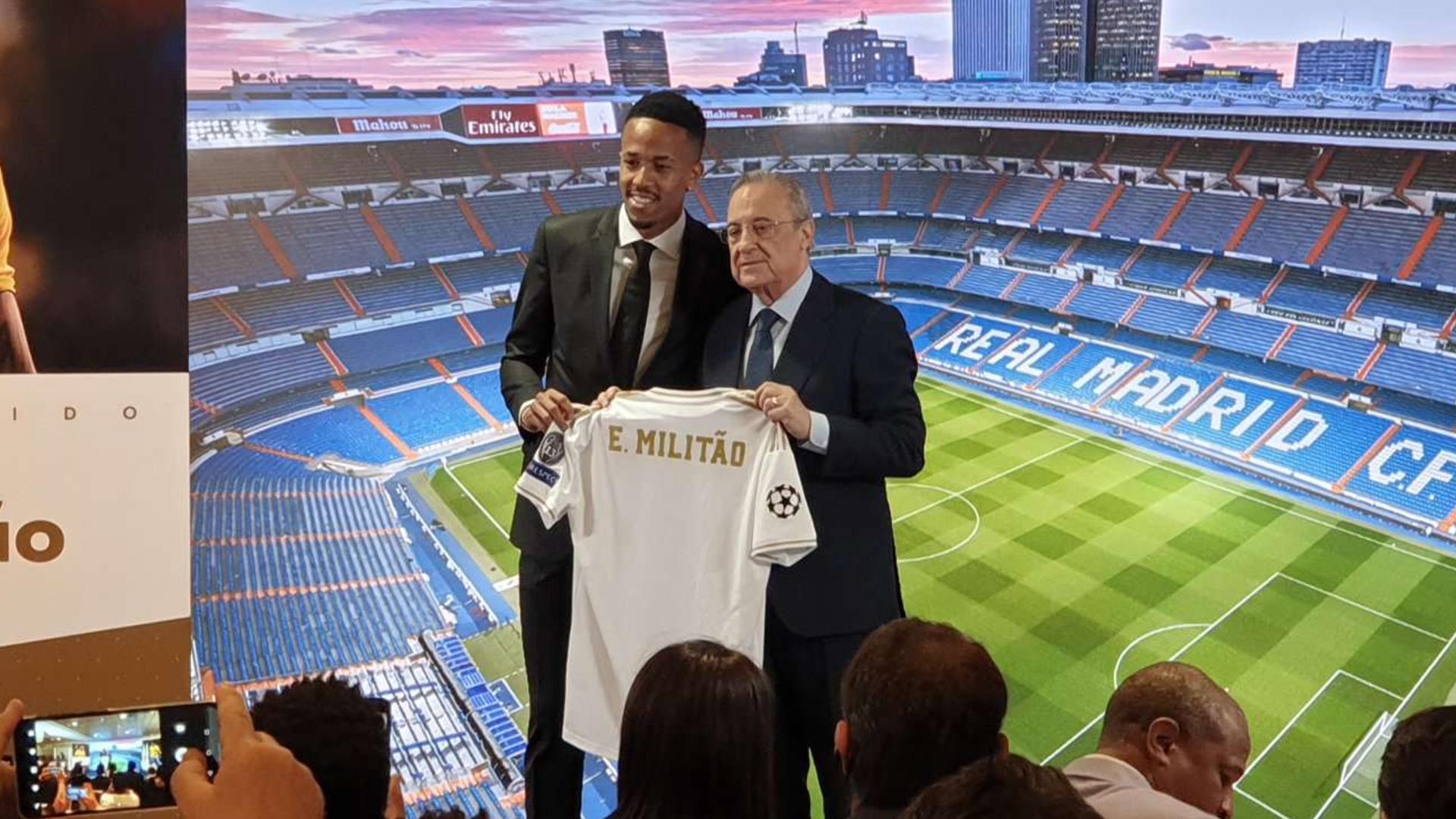 Real Madrid - Les premiers mots d'Eder Militao
