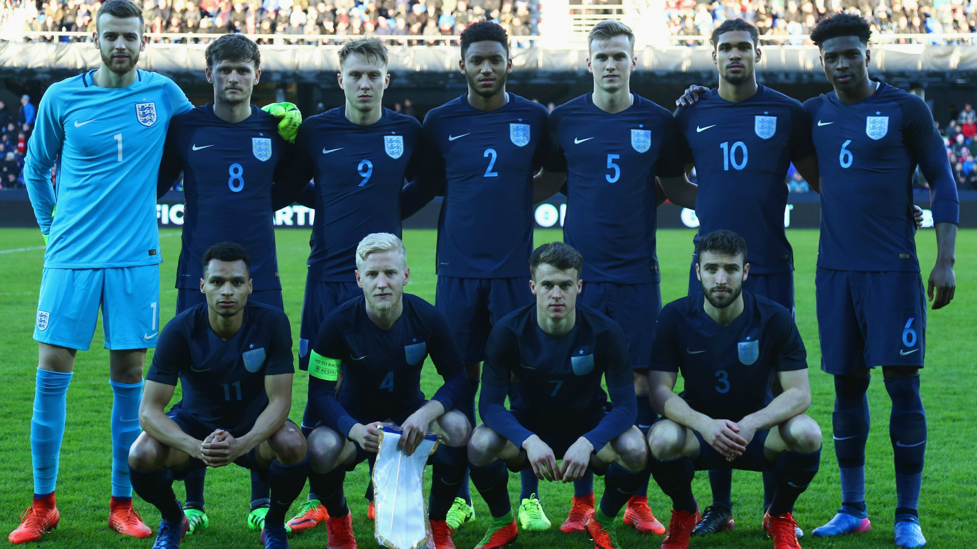 England U21 squad