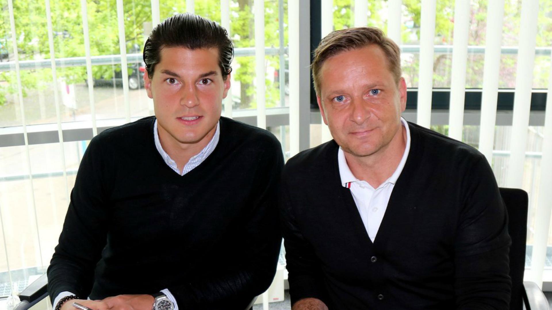 Miiko Albornoz renovó contrato con Hannover tras ascenso a Bundesliga