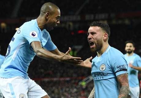 Man City's pressure makes Man Utd buckle