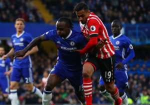 Victor Moses was in fine form as the Blues dismissed Southampton courtesy of Diego Costa, Gary Cahill and Eden Hazard strikes at Stamford Bridge