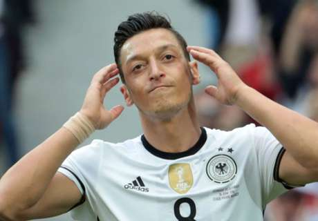 Ozil sets UNWANTED Euro record