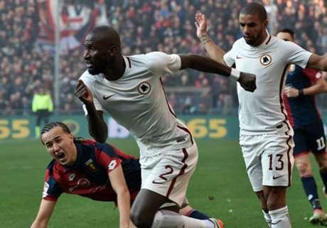 AS Roma wint door eigen doelpunt